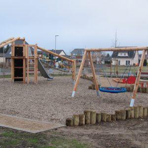 Der neue Spielplatz in Flerzheim-West