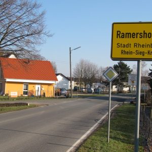Orsteingang von Ramershoven