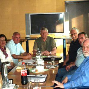 Fraktionsitzung beim SV-Wormersdorf