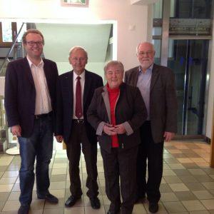 Neue und alte SPD-Ratsmitglieder