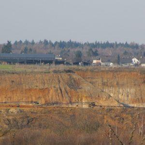 Kiesabbau in Flerzheim