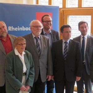 Justizminister Kutschaty zu Gast in Rheinbach