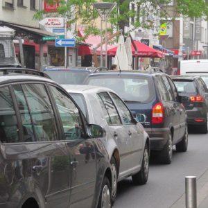 Verkehr in Rheinbachs Hauptstraße