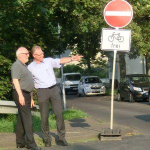Dietmar Danz und Dr. Georg Wilmers