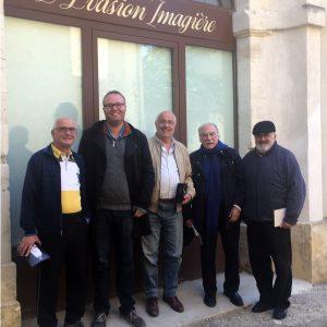 Folke große Deters zu Besuch in Villeneuve lez Avignon