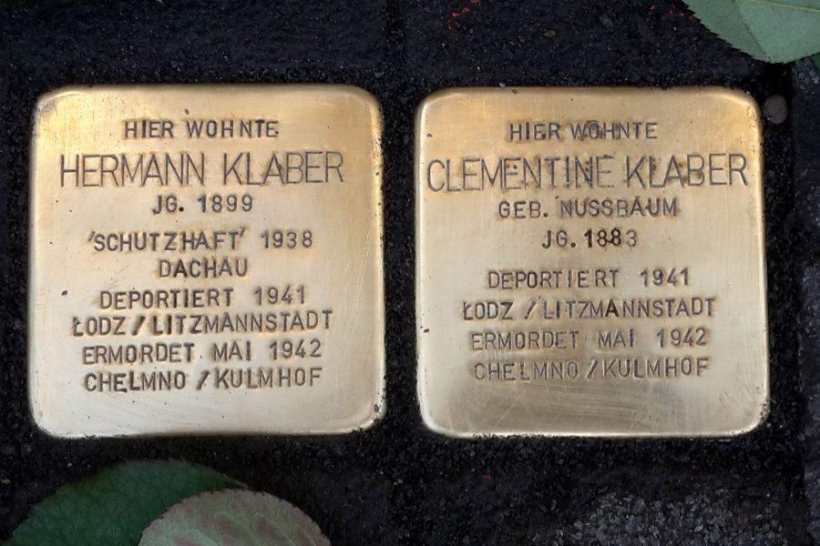 Stolperstein für Hermann Klaber