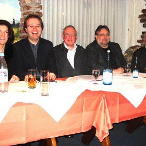 v.l.n.r.  Martina Koch, Folke große  Deters, Robert Zawada, Peter Hansen, Robert Hufschlag