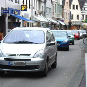 Rheinbachs verstopfte Hauptstraße