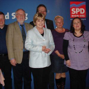 Neuer SPD-Vorstand 2010