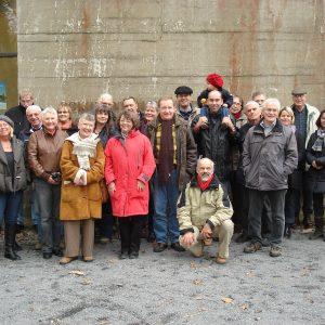 Die Rheinbacher SPD besichtigte den früheren Regierungsbunker